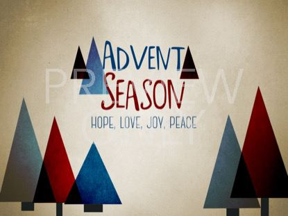 MODERN CHRISTMAS ADVENT STILL