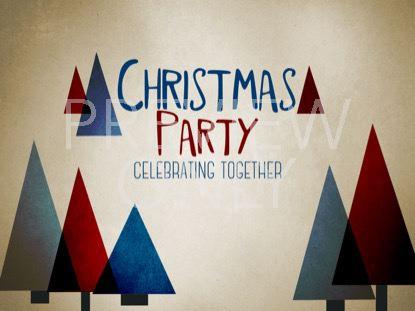 MODERN CHRISTMAS PARTY STILL