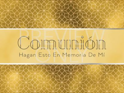 NEW YEAR DECO COMMUNION STILL - SPANISH