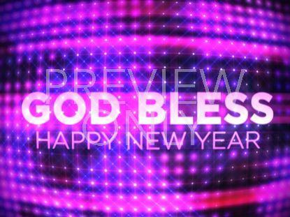 NEW YEARS BALL GOD BLESS STILL