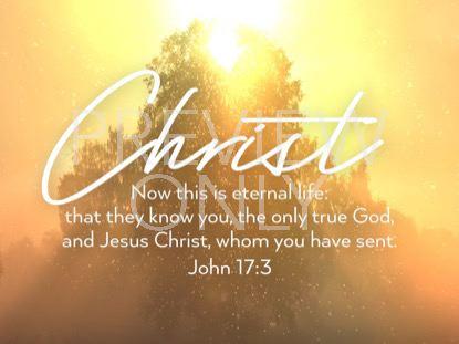 ONLY CHRIST JOHN STILL
