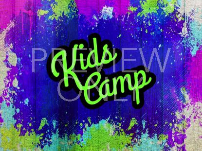 PAINTED JOY KIDS CAMP STILL