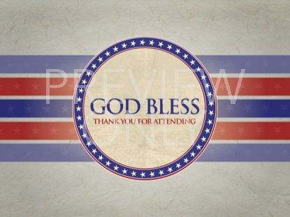 PATRIOTIC GOD BLESS STILL