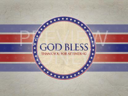 PATRIOTIC GOD BLESS STILL
