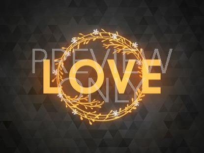 PEACEFUL ADVENT LOVE 1 STILL