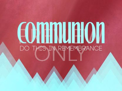 RISING TRIANGLES COMMUNION STILL