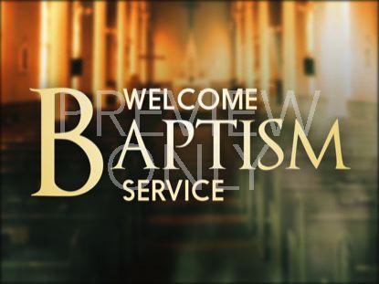SANCTUARY BAPTISM STILL