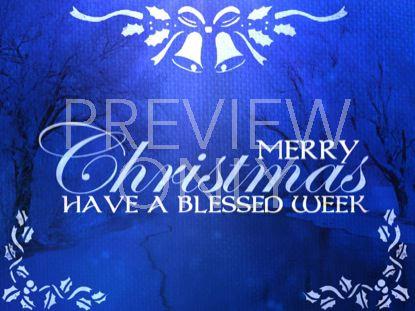 SAPPHIRE CHRISTMAS GOODBYE STILL