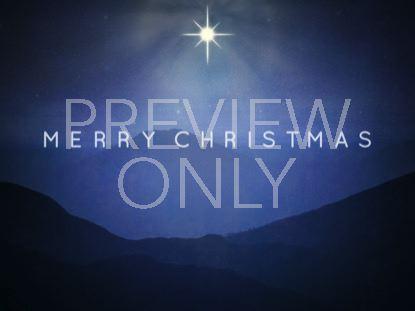 STARRY NIGHT CHRISTMAS STILL