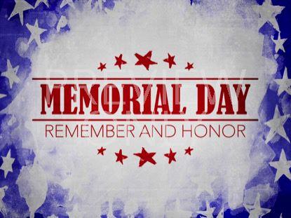 USA HOLIDAY GRUNGE MEMORIAL STILL