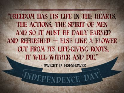VINTAGE INDEPENDENCE DAY QUOTE 2 STILL