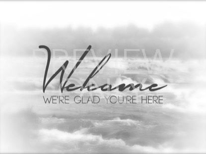 WHITE WASHED WELCOME STILL