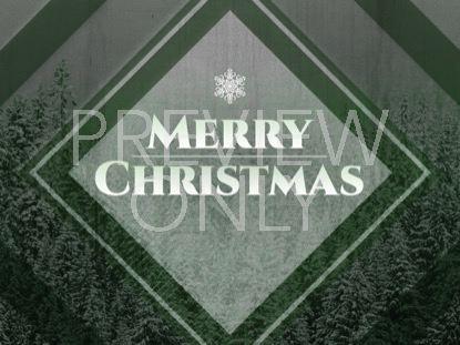 WINTER TRAILS GREEN CHRISTMAS STILL