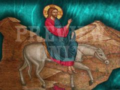 JESUS ON DONKEY 2