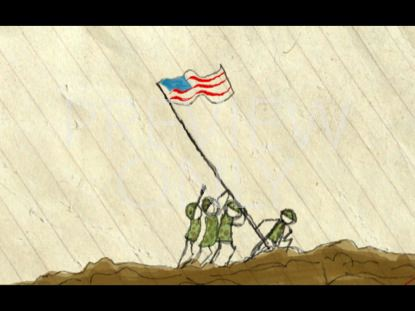 A VERY SPECIAL COUNTRY STILL IWOJIMA