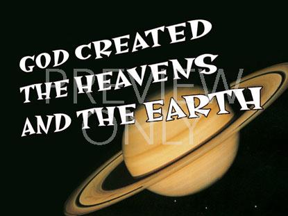 GOD CREATED STILL