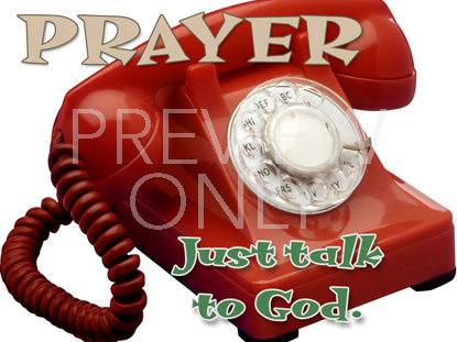 PRAYER JUST TALK STILL
