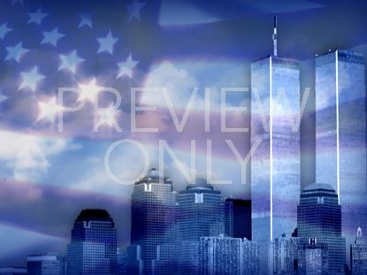 911 SEPTEMBER-11 PATRIOTIC STILL 2