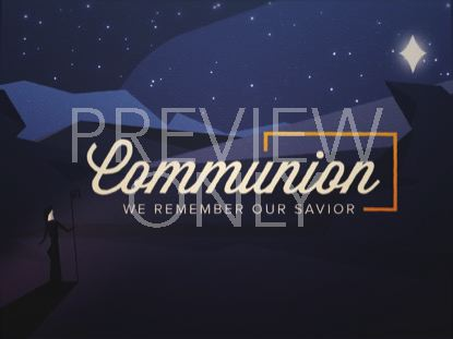 CHRISTMAS NIGHT COMMUNION