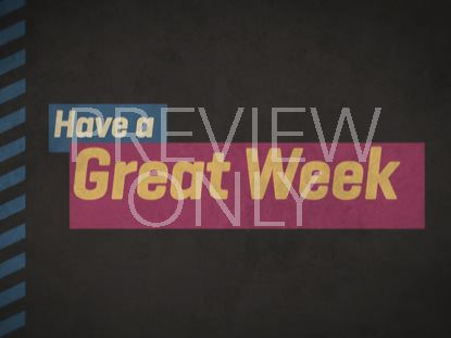 GRAPHITE GREAT WEEK