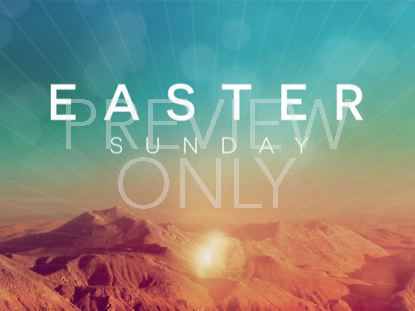 LIGHTBURST EASTER STILL