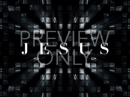 CROSS GLASS JESUS STILL