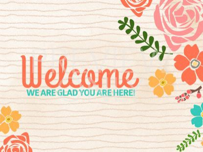 FLORAL WELCOME STILL
