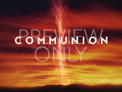 HOLY WEEK GLOW COMMUNION STILL