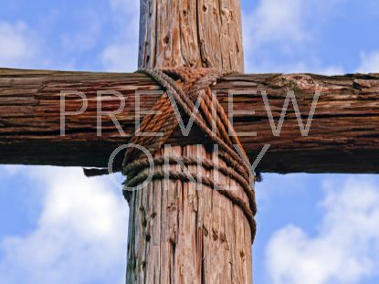 OLD RUGGED CROSS CLOSEUP