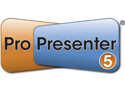 PROPRESENTER 5 FOR WINDOWS