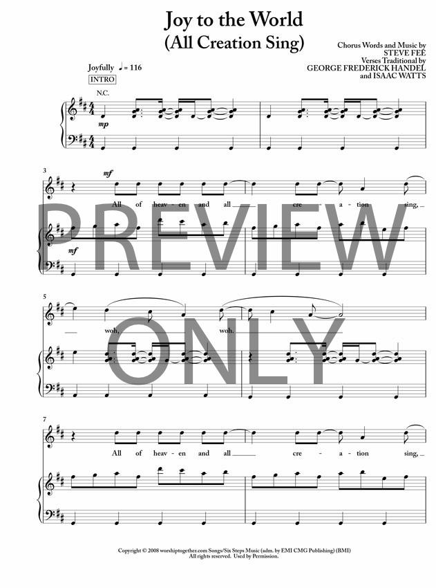 Seth Condrey - All Creation Sing (Joy to the World) Lyrics