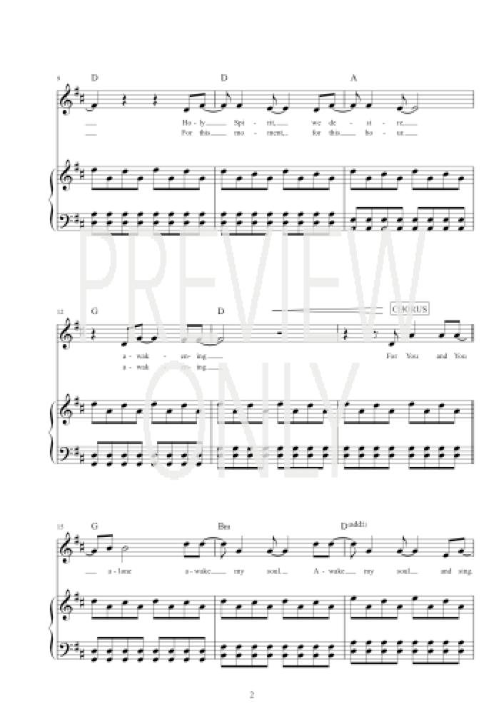 Great Awakening Chords - Tom Inglis Worship Chords