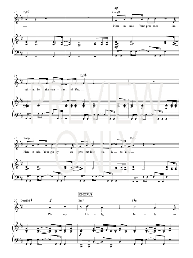 miracles jesus culture chords pdf