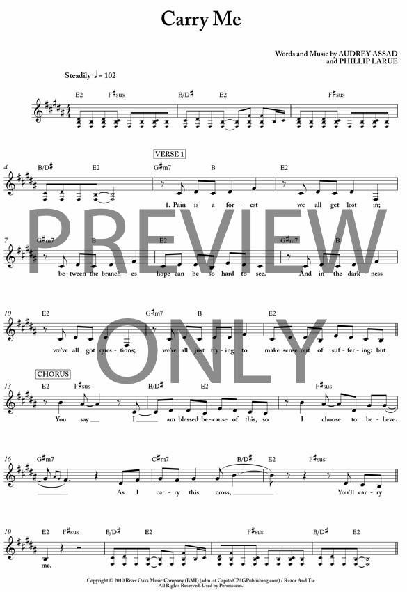 Audrey Assad Piano Sheet Music
