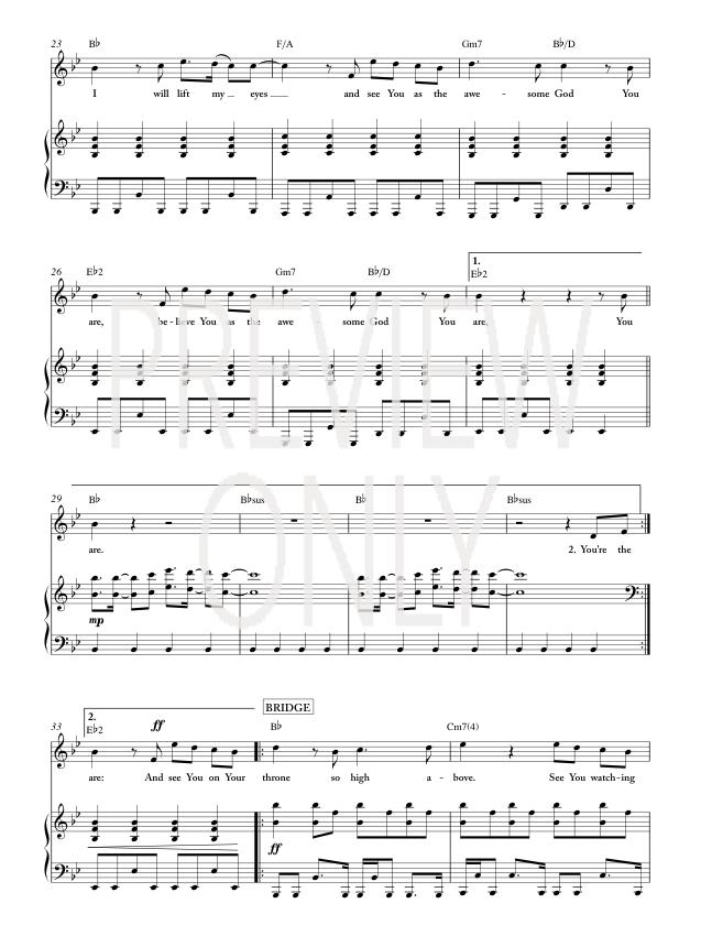 awesome god lyrics and chords pdf