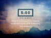 Nature Talks Scriptures Countdown | Playback Media | Preaching Today Media