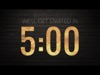 Wooden Glow Countdown | Playback Media | Preaching Today Media