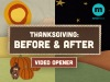 Thanksgiving: Before And After Interactive Countdown | Creative Sheep | Preaching Today Media