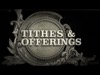 Tithes And Offerings Mini | Creative Media Solutions | Preaching Today Media