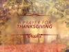 A Prayer For Thanksgiving | Steelehouse Media | Preaching Today Media