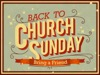 Church Sunday Back To Church | Graceway Media | Preaching Today Media