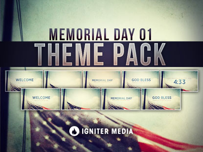 THEME PACK: MEMORIAL DAY 01