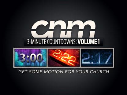 3-MINUTE COUNTDOWNS VOLUME 1