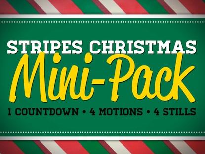 STRIPES CHRISTMAS MINI-PACK