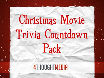 CHRISTMAS MOVIE TRIVIA COUNTDOWN PACK