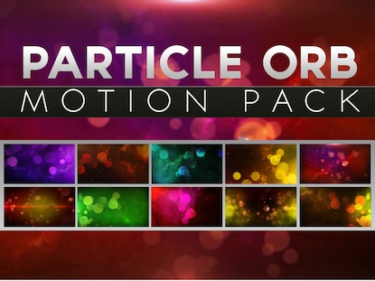 PARTICLE ORB MOTION PACK