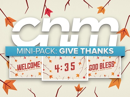 GIVE THANKS MINI-PACK