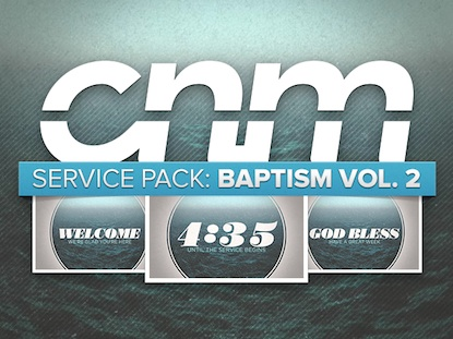 SERVICE PACK: BAPTISM 2