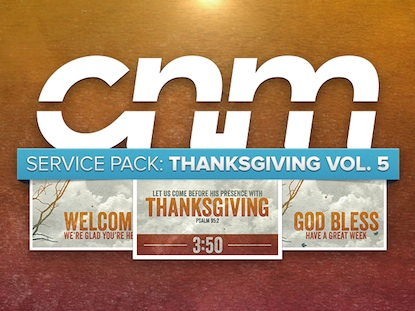 SERVICE PACK: THANKSGIVING VOL. 5