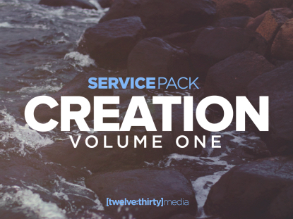 CREATION VOLUME ONE: SERVICE PACK